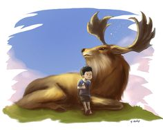 Deer Boy by frixinthepixel.deviantart.com on @deviantART