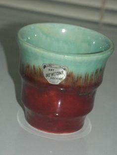 9cm x 5cm Bakewells Newtone Small Pottery Vase