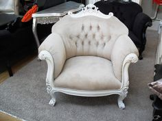 FRENCH GLAMOUR ARMCHAIR | Trade Me