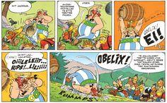 Asterix ja alppikukka. #gallialaiset #sarjakuva #sarjis #obelix #egmont
