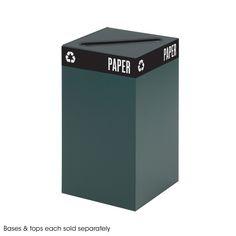 Public Square® Green Base, 25-Gallon | Safco Products