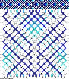 Muster # 88764, Streicher: 20 Zeilen: 20 Farben: 6