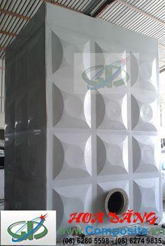 Bồn composite dạng vuông