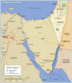 Middle East Map Sinai Peninsula.15 Best Sinai Peninsula Images Sinai Peninsula Mediterranean Sea