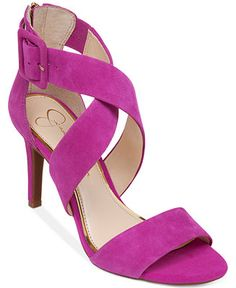 Jessica Simpson Liddy Cross Strap Sandals