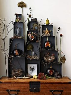 Creepy table display