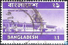 Postzegels - Bangladesh [BGD] - Gerechtsgebouw