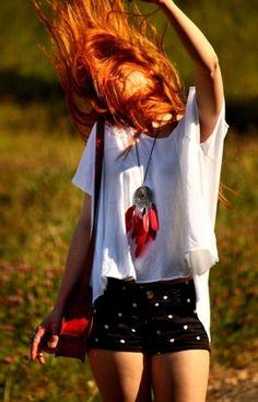 red hair  #redhead