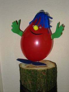 Karneval im Kinderzimmer Luftballon Jüppi