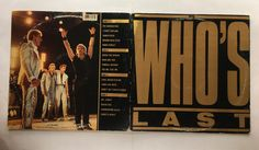 THE WHO WHO'S LAST VINYL 1984 MCA RECORDS FREE SHIPPING LP MCA 2-8081
