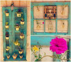 Fuxicando Ideias: 1 Projeto por mês 2015 #01:  Floreiras novas com J...
