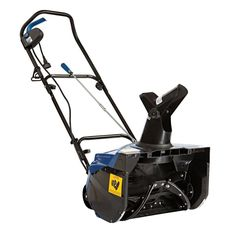 Snow Joe Ultra 18 in. Amp Electric Snow Thrower - When the snow is heavy outside, the Snow Joe Ultra 18 in. Amp Electric Snow Thrower is the heavy you need to tackle it. It blasts snow from driveways. Electric Snow Shovel, Electric Snow Blower, Ultra Series, Riding Lawn Mowers, Boogie Woogie, Outdoor Power Equipment, Garden Equipment, Steel, Stuff To Buy