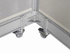 Linea JUMBO - Pannelli divisori, pareti mobili, separè su ruote, schermi flessibili, progettazione, produzione e vendita - Clipper System #schermo #fonoassorbente