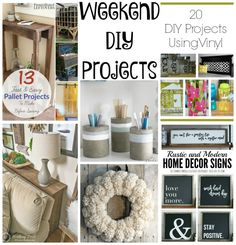 Six awesome Winter DIY Projects for your home! -TablerPartyOfTwo.com