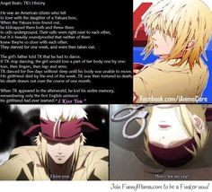 TK's history... Try not to cry... Angel Beats!