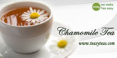 Chamomile Tea, Teas, Health Benefits, Beverages, Canning, Live, Tableware, How To Make, Drinks