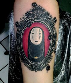 """1. I love this frame! 2. I love that it's """"no face"""" from spirited away!!!"""