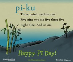 Pi Day Haiku and more activities and ideas to celebrate pi day with your students. Some freebies and printables included to connect math with language arts and more! Math Memes, Math Humor, Nerd Humor, Math Puns, Maths, Nerd Jokes, Math Teacher, Math Classroom, Teaching Math
