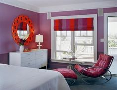Purple And Red Room For Brooklyn Megan Color Cobre S Bedroom
