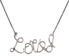 Suzannah Wainhouse   Loved Necklace in Necklaces Chains at TWISTonline