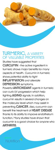 Turmeric, a variety of valuable properties...