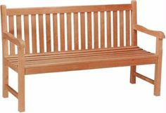 BH005S Straight Back 3 Seat Bench