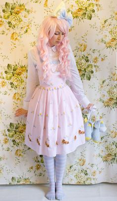 Lolita JSK - DIY Corset Dress - Make Your Own Lolita Dress - Pattern Making and Sewing Instructions for Period Costumes - Lolita How To