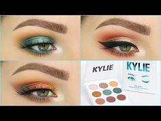3 Looks 1 Palette | KYLIE COSMETICS BLUE HONEY - YouTube