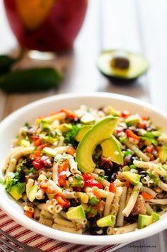 Southwestern Quinoa Pasta Salad