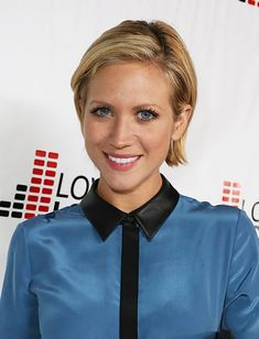 Brittany Snow Bob - Brittany Snow's slicked-back bob was serenely sweet with just the right amount of sass. Pixie Hairstyles, Cute Hairstyles, Frontal Hairstyles, Hairstyle Short, Celebrity Hairstyles, Brittany Snow Bob, Short Hair Cuts, Short Hair Styles, Short Pixie