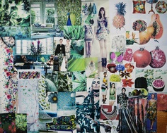 Mood board how to and brainstorming.