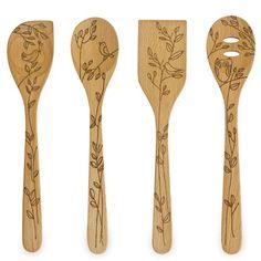 Talisman Designs, wooden kitchen utensils