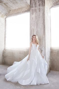 Romantic Ball Gown Wedding Dress by Hayley Paige - Image 1 zoomed in