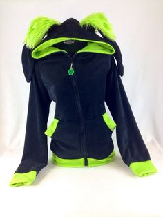 Bunny Rabbit Hoodie YOU Pick Size and Color Theme Bounce Hop Extra Warm and Soft jacket coat Cosplay costume Anime furry apparel 6152 on Etsy, $85.00