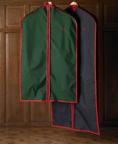 Monogrammed dress and garment bags are great gift - whether it be for a hostess or for someone during the holidays.