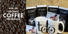 WIN an Organic Coffee Prize Pack. To enter: http://treescoffee.com/win-an-organic-coffee-Prize-Pack/  #VancouverContest #GreaterVancouver #yvrcoffee