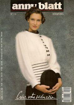 MAGAZINE ANNY BLATT N°114 tricot INTEMPOREL : Autres Tricot et Crochet par…