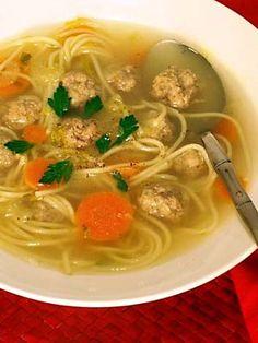 Vermicellisoep - Recepten en kooktips voor klassieke gerechten en ingredienten Goulash, Thai Red Curry, Soup, Chinese, Ethnic Recipes, Drinks, Drinking, Drink, Soups