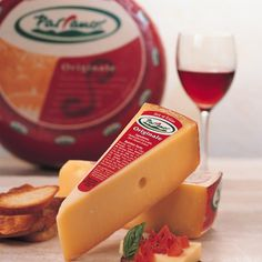 parrano cheese - was my favorite of all the cheeses we tried during our pairing! goes well with everything...nutty, salty, creamy, perfect!