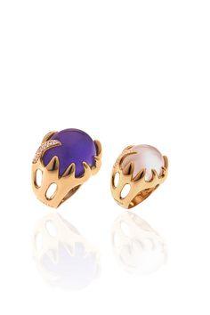 GAVELLO 'Anemone' ring