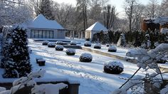 Rosengarten Forst Lausitz, Wasserspiele, Januar 2017