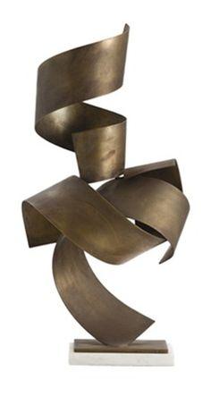 Modern sculpture piece.