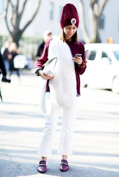 29+Perfect+Ways+to+Wear+White+This+Winter+via+@WhoWhatWear