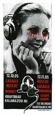 GigPosters.com - Rescue - Lasalle - Hornet - Paradise - Scouts Honor