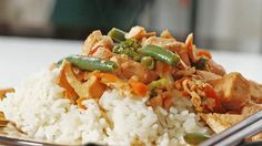Sarah Caron from Sarah's Cucina Bella shares a recipe. This simple Asian-flavored stir-fry is super easy. Using fresh salmon and frozen veggies, it's ready in minutes.