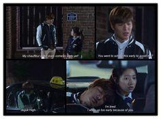 Heirs Lee Min Ho & Park Shin Hye