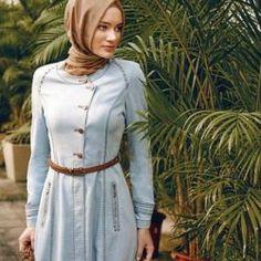 Nihan Kot Pardesü Modelleri Mavi