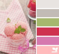 Strawberry Ice Cream ~ design seeds
