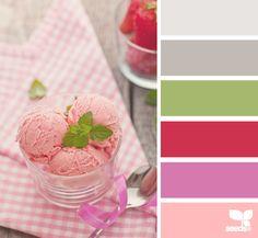 Strawberry Ice Cream ~ design seeds
