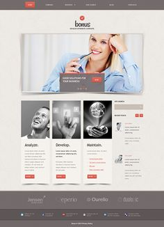 Business Proposution Joomla Template by Html5 Web Templates